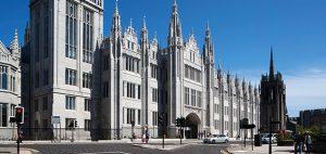 Marischal College, Aberdeen City Council headquarters. Photo: Aberdeen City Council