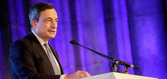 ECB president Mario Draghi. Photo: ECB