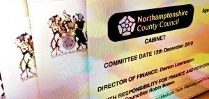Northamptonshire Council faces financial crisis